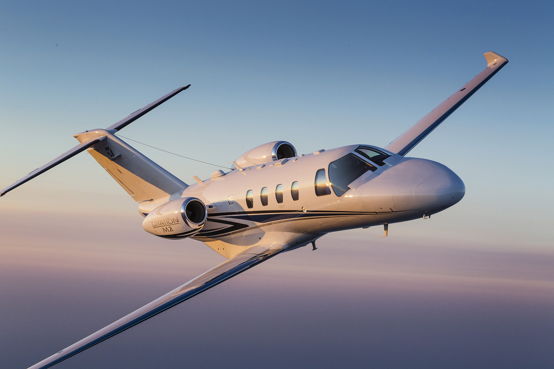 Cessna Citation in flight
