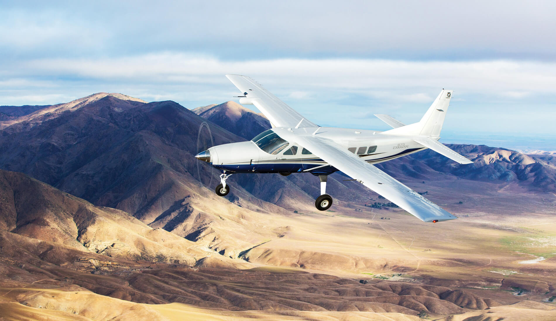 Cessna Caravan in flight